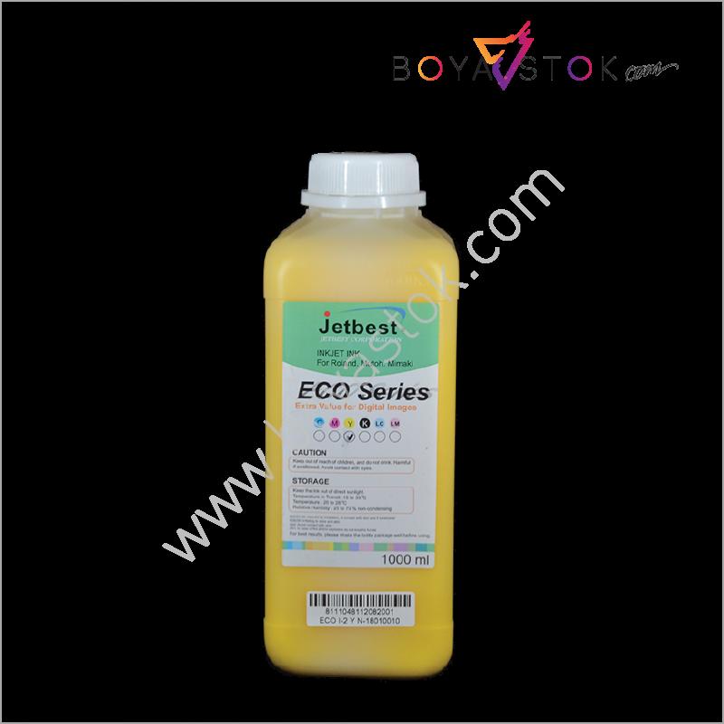 Eco-Solmax2 Muadili 1000ml Bidon EcoI2 Eco-Solvent Boya