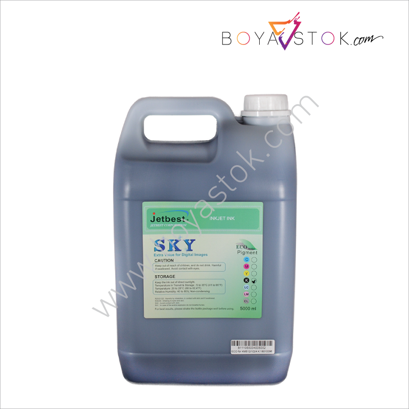 Konica 512i/1024i 5000ml Bidon Eco-Solvent Boya