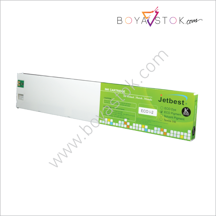 Eco-Solmax1 Muadili 440ml Kartuş New Eco-Solvent Boya