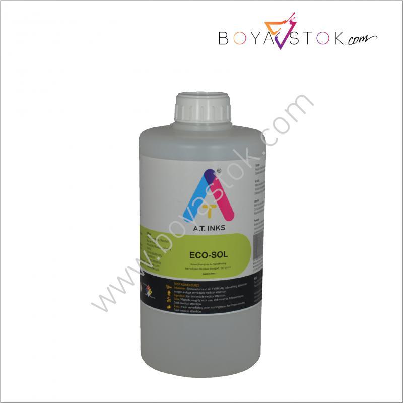 AT INKS Eco-SOLMAX 1 Lt. Temizleme Solüsyonu