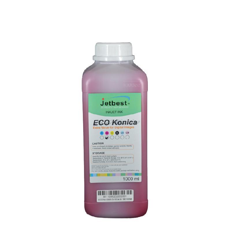 Konica 512/1024 1000ml Bidon Eco-Solvent Boya