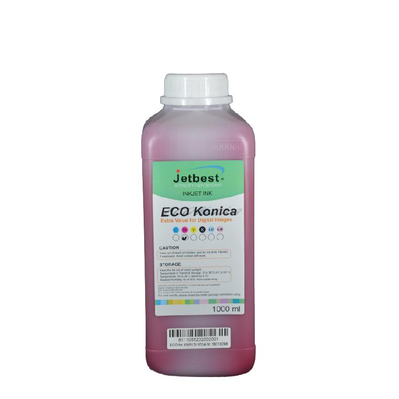Konica 512i/1024i 1000ml Bidon Eco-Solvent Boya